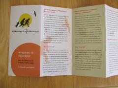 """Informationsmaterialien: """"Willkommen in Falkensee"""""""