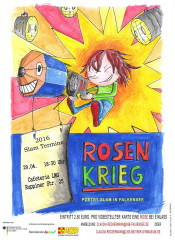 Plakat der Veranstaltung Rosenkrieg