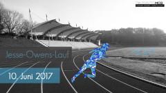 Ein Werbebild vom Jesse-Owens-Lauf