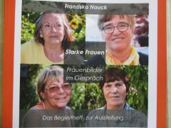 """Das Begleitheft zur Ausstellung """"Starke Frauen - Frauenbilder im Gespräch"""""""