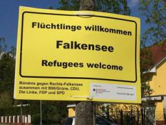 Falkensee heißt Flüchtlinge willkommen